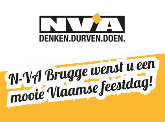 Vlaamse feestdag N-VA Brugge