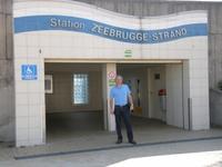 Station van Zeebrugge-Bad, ons stadsstrand