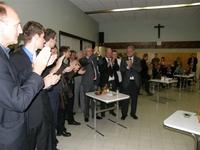 Applaus voor de stichter van N-VA, Geert Bourgeois